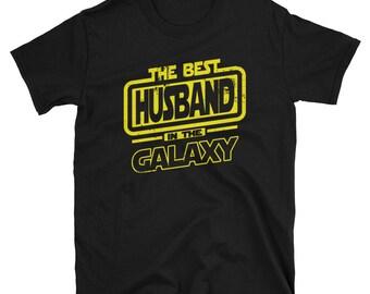 Husband  Shirt - The Best Husband  In The Galaxy -  Husband  Gift T-Shirt