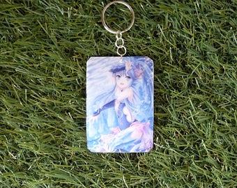 Key chain girl water