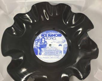 Record Bowl - Black Vinyl