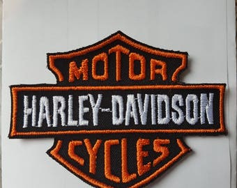 Harley Davidson patch fusible