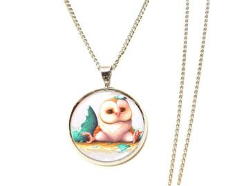 OWL necklace OWL