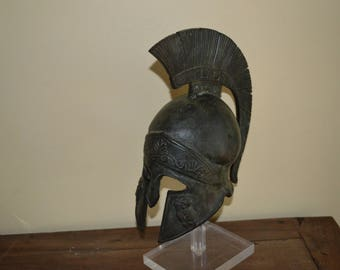 Large Bronze helmet Greek Spartan