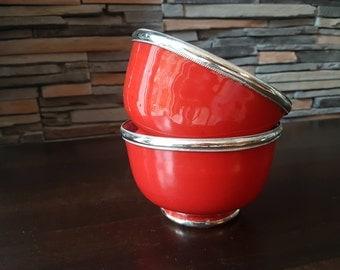 Moroccan ceramic bowls, moroccan ceramic bowls, handmade, handmade
