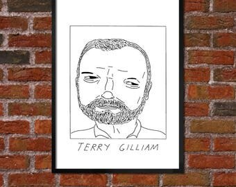 Badly Drawn Terry Gilliam - Film / Movie / Cinema Poster