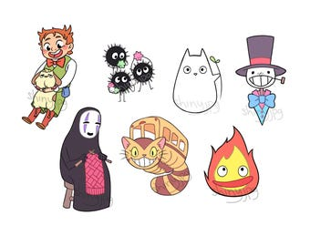 Ghibli Stickers