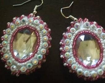 elegant beaded earrings