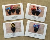Afrocentric Note Cards: Gifts for Her, Bridesmaid Gift Ideas, Teacher Gift Ideas, Gifts for Friends