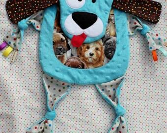 Sensory Snuggle Blankie - Spot the Dog