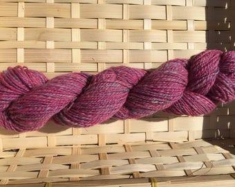 Alpaca Merino Silk blend handspun yarn 60g skein