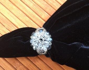 Ring with Swarovski stones