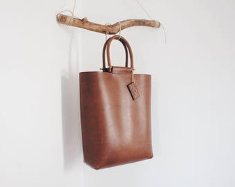 Myrrh leather | Me'tote | Handmade Leather tote bag | Shopper bag