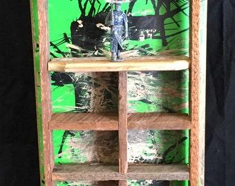 Used Zero Skateboard Deck Shadow Box