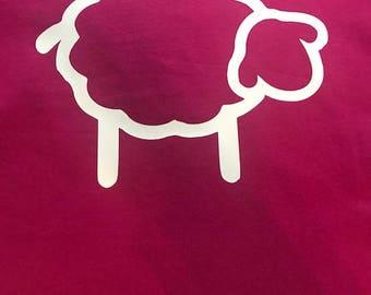 Childs Personalised Sheep Hoodie