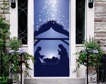 Nativity Silhouette Etsy