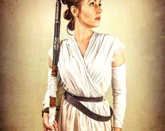Rey Star Wars Force Awakens Inspired Costume