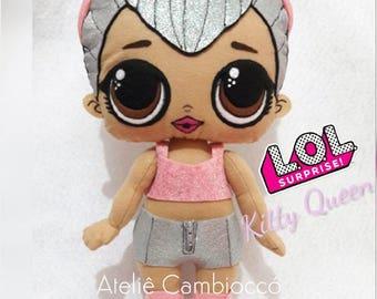 Kitty Queen LOL Surprise Doll Handmade