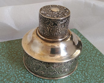 Prand-Chatillon Co. sterling silver-mounted cocktail shaker - Cap only