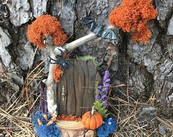 Fairy Door on Halloween
