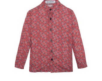 Sebastian bicycle patterned shirt