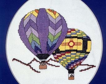 Hot Air Balloons Over Sandia