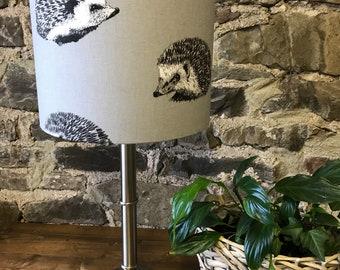 Prestigious Textiles Hedgehog Lampshade in grey