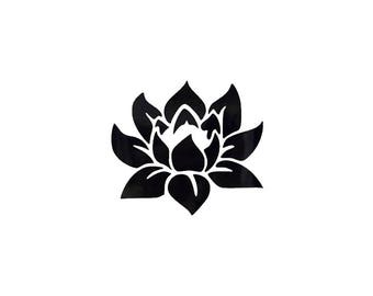 Lotus Decal | Lotus Decor | Lotus Laptop Sticker | Lotus Bumper Sticker | Lotus Yeti Tumbler