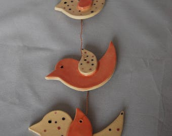 Gift for Her, Hanging Bird Decorations