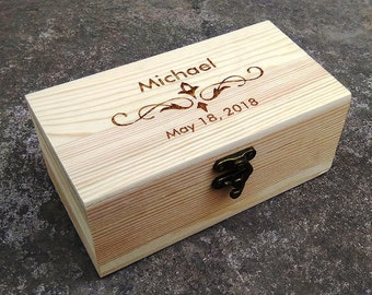 Groomsmen Gift Box,Personalized Gift Boxes,Small Box,Personalized Boxes,Custom Gift Boxes,Engraved Gift Boxes
