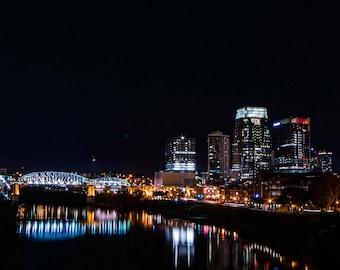 Nashville Skyline Pano