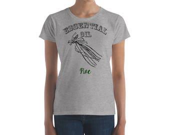 Essential Oil Pine Women's short sleeve t-shirt