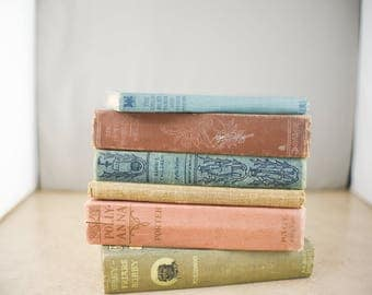 Vintage Hardcover Books - Lot of 6