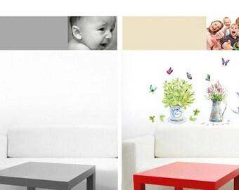 Home decore wallpaper ''flowers'' 3D
