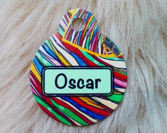 Customised, personalised, dog, cat, pet id tag