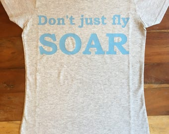 Disney's Dumbo inspired Don't just fly soar t-shirt