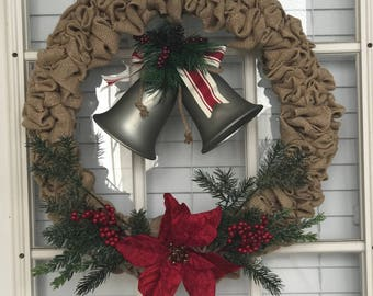 Jingle Bell Christmas Wreath