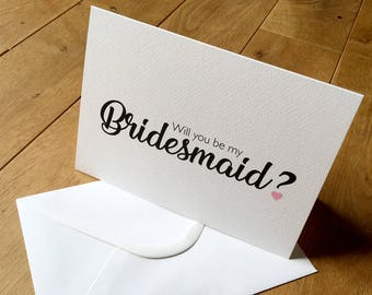Will you be my bridesmaid, bridesmaid card, gift card, greetings card, wedding cards, wedding bridesmaid card