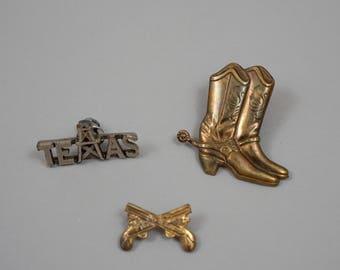 Vintage Western Pins