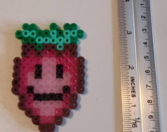 Vegetable made of hama beads