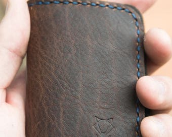 Gentleman's Bifold - Bison Leather