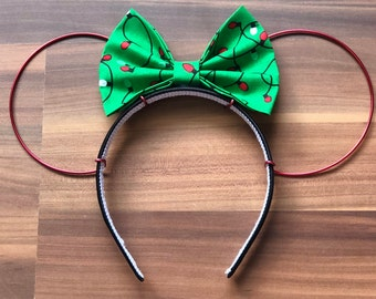 Minnie Mouse Wire Christmas Ears