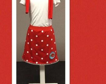 Polka Dot Skirt Size 110-116