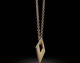 Mini Kite Gold Charm Necklace or Bracelet