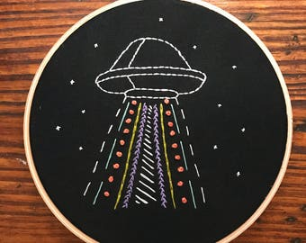 Hand embroidery UFO
