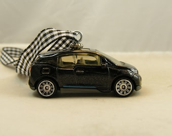 2015 BMW i3 - FREE SHIPPING - Anytime Ornament - Beamer Beemer - Fathers Day - Dad - Birthday - true classic - luxury sports car