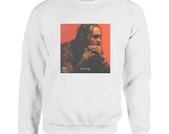 Post Malone Stoney Album Cover Sweater