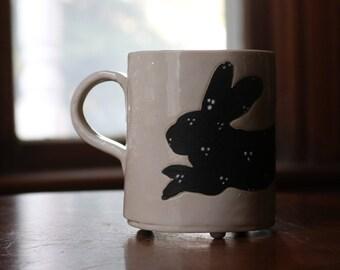 Spotted Bunny Mug