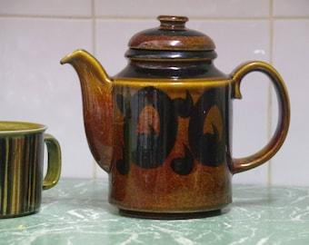 Vintage Arabia Finland Soroya  Coffee/Tea Pot Mid Century  Scandi Design GOG