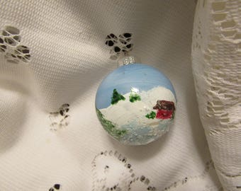 Christmas Ornament (SM) Hand Painted