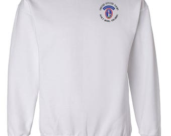 U.S. Army Honor Guard Embroidered Sweatshirt-7647