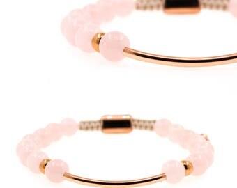 Baluya Rose Quartz Bracelet